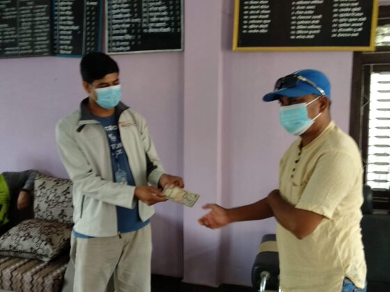 पत्रकार महासंघ दाङको आईशोलेसन वार्ड निर्माणमा सहयोग 6
