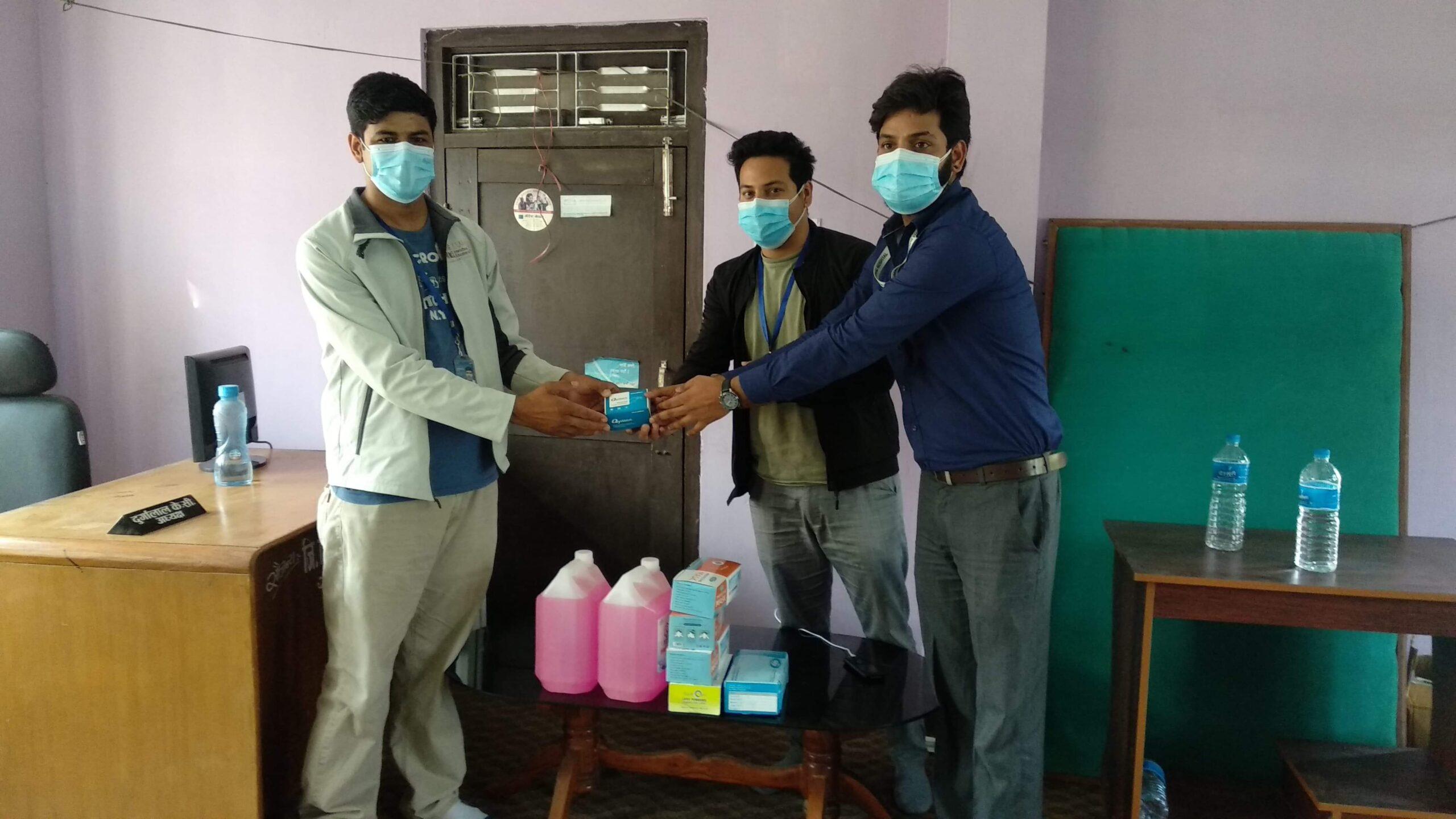 पत्रकार महासंघ दाङको आईशोलेसन वार्ड निर्माणमा सहयोग 2